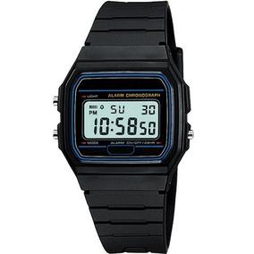 Lote De 10 Reloj Digital Colores Alarma Luz Fecha Crono
