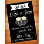 Convite Digital Cha Bar Chabar Boteco Panela