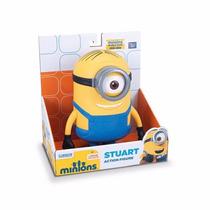Minion Stuart Universal Licencia Original 18 Cm
