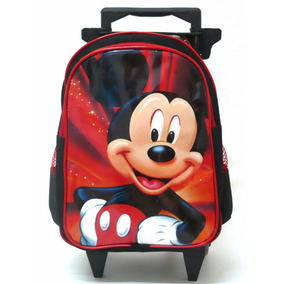 Mochila Mickey Mouse Rodinhas Tam M Infantil - Boleto