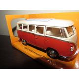 Perudiecast Vw Volkswagen T1 Bus 1963 Kombi Welly Esc. 1:32