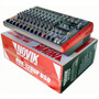Mixer/mesa De Som Amplificado 12 Canais Nvk-1200p - Novik