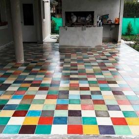 Mosaicos Calcareos Lisos Y Decorados - Somos Fabricantes