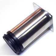 Pata Mueble Acero Moderna 8cm Cm Regulable Verashop