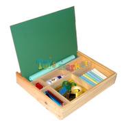Caja De Arte Con Pizarron Valija Para Dibujar Y Pintar Clap