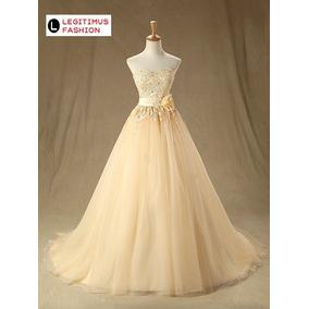 Vestido De Casamento Tule Sem Mangas Promoção Sob Encomenda