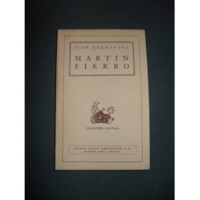 Libro Martín Fierro - José Hernández