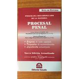 Guia De Estudio. Procesal Penal - 2017 Ed. Estudio