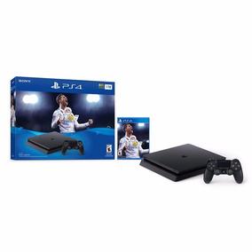 Consola Ps4 Slim 1 Tb + Fifa 18
