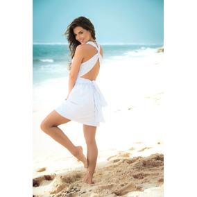 Vestido Pareo Playero Cover Up Salida De Playa 4934-18