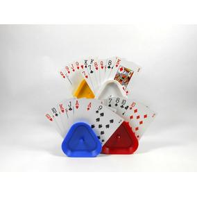 Sujeta Naipes Cartas - Card Holder - Set X 4 Unidades