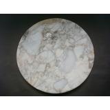 Disco De Piedra De Marmol 22 Cm Diameto 2 Espesor