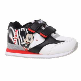 Zapatillas Disney Mickey Con Luces Addnice - Mundo Manias