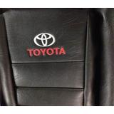 Fundas Cubre Asiento Cuerina Toyota Hilux Camioneta