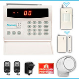 Kit Alarma Domiciliaria Inalambricas Casa Tc-ariza 32 Zonas