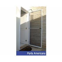 Porta Mosquiteira Em Aluminio - Kit Porta Mosquiteiro