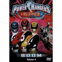 Dvd Power Rangers Spd Boom Vol 4 - Original Novo Lacrado
