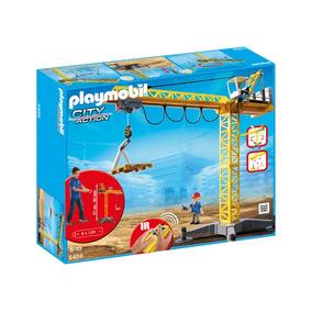 Playmobil Grua De Construccion