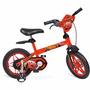 Bicicleta Infantil Disney Cars Bandeirante - Aro 12