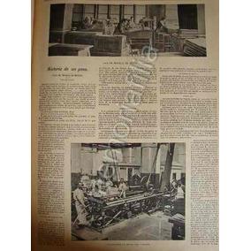 Reportaje Antiguo 1896 Casa De Moneda De Mexico