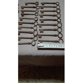 Llaves De Cerradura (29).hierro.muy Antiguas.el Precio X C/u