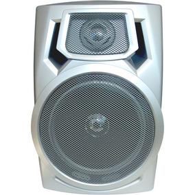 Caixa De Som Micro System 4 Ohms 3w Cinza Direito (2 Pcs)