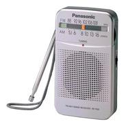 Radio Portátil Panasonic Rf-p50dpr-s Am Y Fm Caseros