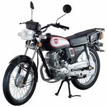 Motocicleta De Trabajo Kurazai Classic Negra 125cc