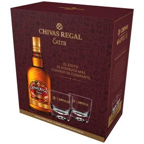 Chivas Regal Extra. Select. 750 Ml + 2 Vasos