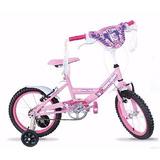 Bicicleta Mega Rodado 12 Bmx Nene Nena Con Rueditas Envios