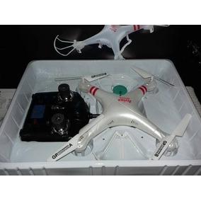 Drone Dron Aviax F2c Vuelo Con Camara Hd White