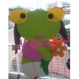 Piñata Infantil En Goma Eva Sapa Pepa Y Sapo Pepe