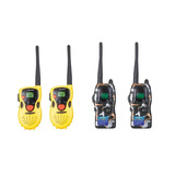 Rádio Comunicador Walk Talk Infantil Camuflado + Amarelo