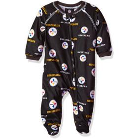 Nfl Pittsburgh Steelers Newborn Boys Ropa De Dormir Por. 2885d6255bc