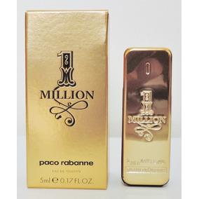 Perfume Miniatura One Million Edt Paco Rabanne 5 Ml