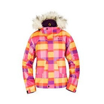 Hermosa Campera Impermeable Victorians Estampada Xl Ski