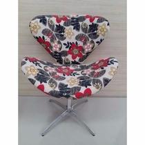 *poltrona Decorativa Giratória Base Cadeira Promoção