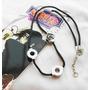 Naruto Collar Itachi Uchiha Metal Importado