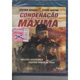 Blu-ray Condenação Máxima - Steven Seagal - Novo E Lacrado**