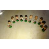 Muñecos Cabezones Jugadores De Futbol Coca Cola