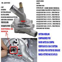 Bomba D´agua Fiat Palio 1.8 16v 2011/... Todos Etorq Flex