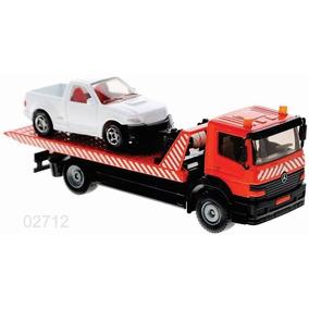 Siku Camion Grua Plataforma Con Pickup 1/55 Diecast Metal