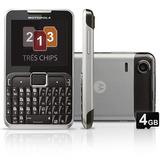 Celular Motorola Motogo! Slim Ex505 Tri Chip | Vitrine