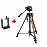 Tripode Weifeng Wt-3530 Con Adaptador Para Celular