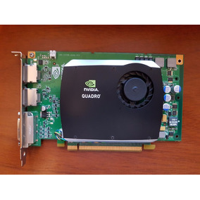 Placa Video Nvidia Quadro Fx580 Pci-e 512mb Ddr3 Dvi D-port