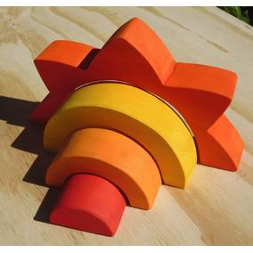 Sol Encastrable De Madera Waldorf-montessori Albura Toys