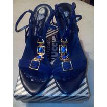 Zapatos Alto Trenzado
