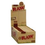Rolling Paper Raw Organic / Caja De 50 Libros Papel De Liar