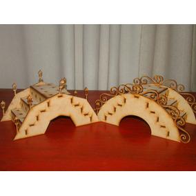 Puente Porta Chupetines Fibrofacil Candy Bar Cumpleaños