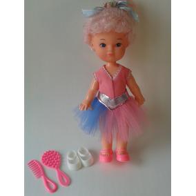 Boneca Antiga Nininha Bailarina Da Estrela Anos 80 Raridade